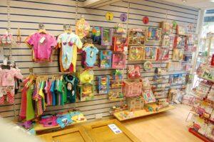 Koolmami toys in Bristol displays toys by age.