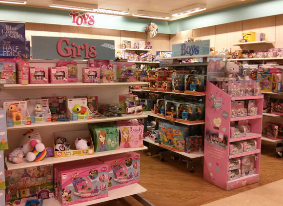 Toy Stores For Boys : Signs let toys be