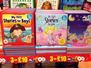 My first stories for boys (cover image of pirare) My first stories for Girls (cover image of fairy)