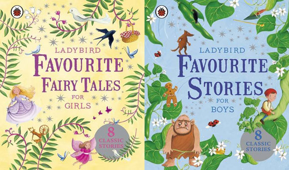 Ladybird Favourite Fairy Tales for Girls, Favourite Stories for Boys