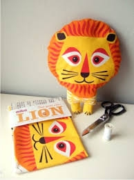 lion whirlygig