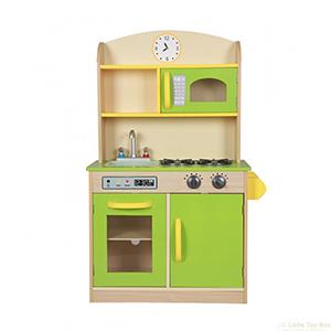 deluxe wooden kitchen toybox