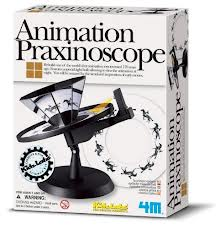 Whirligig praxinoscope