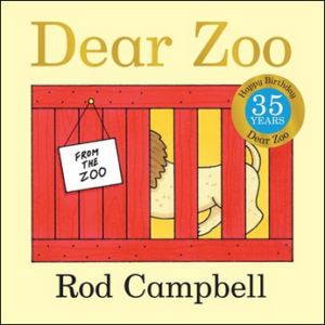 Dear Zoo book cover