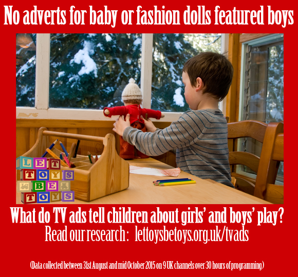 No adverts for baby or fashion dolls featured boys - 79.170.40.168/lettoysbetoys.org.uk/tvads