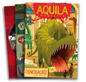 Aquila magazine covers