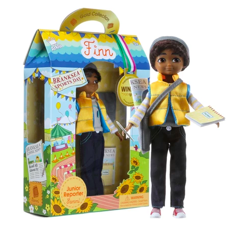 Lottie Dolls junior reporter boy doll Toymark gift guide