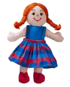 One World Shop doll with red hair Toymark gift guide