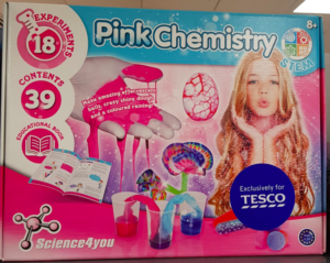Tesco Science4u Pink Chemistry